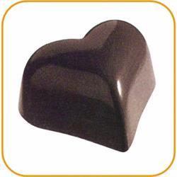 Schokoladenform Herz, 27,5x13,5 cm, 21 Stück à 6 gr.