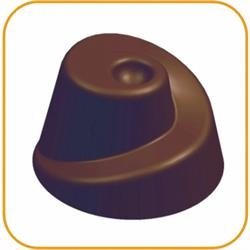 Schokoladenform Fantasie, 27,5x13,5 cm, 21 Stück à 9 gr.