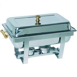 Chafing Dish GN 1/1-65 mm, komplett mit Messinggriffen