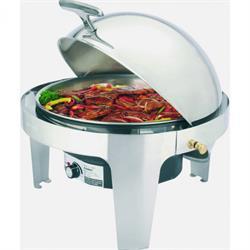 Elektro Chafing Dish, Roll Top Deckel, 6,8 ltr., 230V / 500W