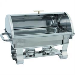 Chafing Dish GN 1/1-65 mm, extra schwere Ausführung, Roll Top