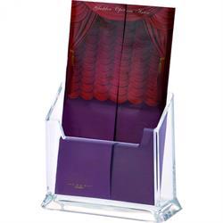 Acryl-Kartenhalter, 15x6x12,5 cm