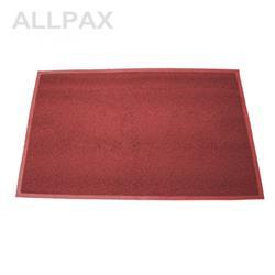 PVC Matte ohne Aufdruck, rot - 120x150 cm