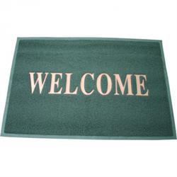 PVC Matte Welcome, grau - 60x40 cm