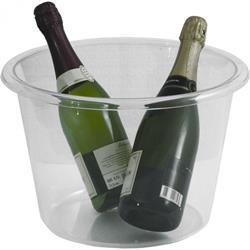 Champagner-Kühler 34 cm, Acryl