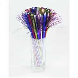 Beutel á 250 Stück - Trinkhalm, Feuerwerk, farbig sortiert