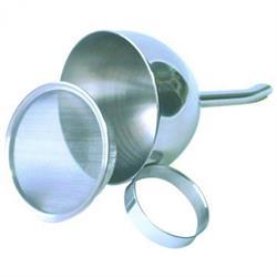 Flaschentrichter mit Sieb, 8 cm