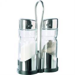 Menage 2-teilig, Salz & Pfeffer, Unterteil Kunststoff