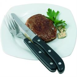 Profi Steak- / Pizzamesser, POM-Griffe