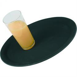 PP Café-Tablett, rutschfest, schwarz