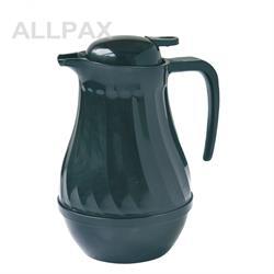 Thermo-Kaffeekanne, Einhandbedienung, schwarz - 1 / 1,5 / 2 ltr.