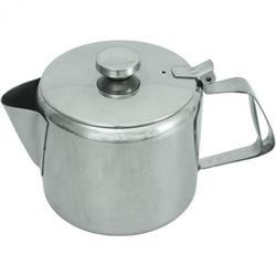 Teekanne poliert mit Kaltgriff