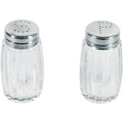 Salz- und Pfefferstreuer einfache Ausführung, Kappe CNS