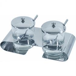 Marmeladen-Menage, 2 Gläser