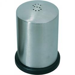 Salzstreuer 5 cm, Edelstahl / Kunststoff