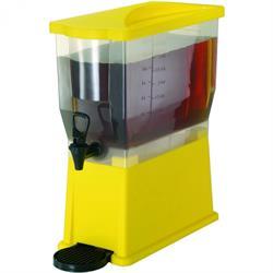 PP-Saftdispenser, gelb, 14 ltr.