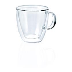 Espressodoppio aus Glas