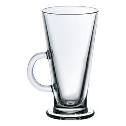 Eiskaffee Glas gehärtet - mit Henkelgriff