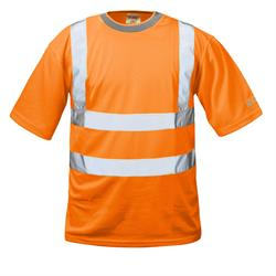 THOMAS   WARNSCHUTZ-T-SHIRT ORANGE
