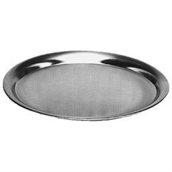 Serviertablett oval, Edelstahl