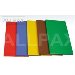 Schneidbrett farbig 600 x 400 x 20 mm