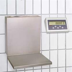 Wandwaage 60 kg, eichfähig, Edelstahl-Anzeige