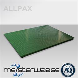 ALLPAX platformweegschaal 1,2 x 1,5 m