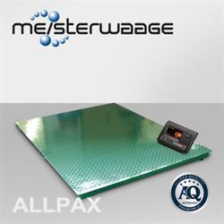 ALLPAX Weegplateau 1,5 x 1,5 m