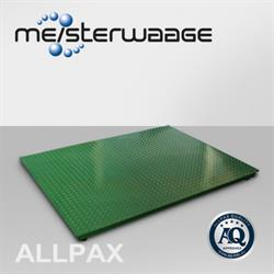 ALLPAX Weegplateau 1,5 x 2,0 m