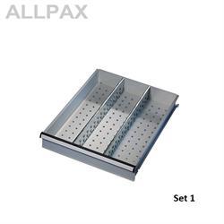 Unterteilungssets für Schubfächer für Blendenhöhe 100 mm - 300 mm
