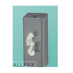 Tissuebox für die Einzelentnahme von Kosmetiktüchern