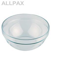 Glasschale ca. Ø 14 cm - Inhalt 0,5 Ltr.