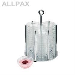 Schälchen-Spender MINI inkl. 36 Glasschalen