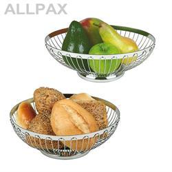 Brot- und Obstkorb, verschiedene Größen, rund