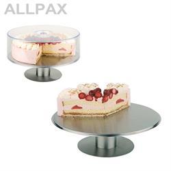 Servierplatte / Tortenplatte -INOX-, Edelstahl