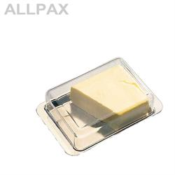 Kühlschrank-Butterdose, Edelstahl