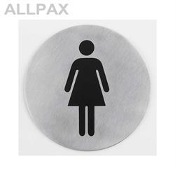 Türsymbol -Damen-