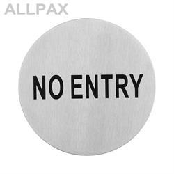 Türsymbol -No entry-