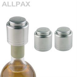 2 Wein-Verschlüsse Ø 4,3 cm, H: 4,5 cm