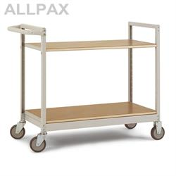 Manuflex Etagenwagen Varimobil 950 mm hoch - Fachboden Holzverbund