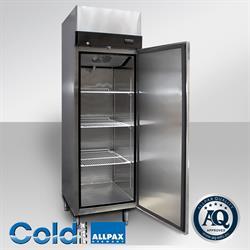 Edelstahl Umluft Kühlschrank 410 Liter