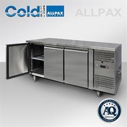 Gastronorm Kühltisch mit 3 Türen - 420 Liter