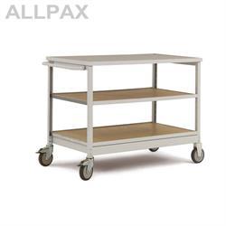 Manuflex Mobiler Werkstattwagen mit Einlegeböden
