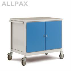 Manuflex Mobiler Werkstattwagen mit 2 Stahlgehäuse
