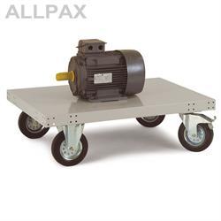 Manuflex Plattformwagen Transo ohne Aufbau Ladehöhe 295 mm