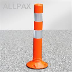 Leitpfosten Flexipoller, orange, 100 mm Durchmesser