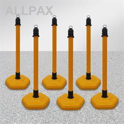 Kettenpfostenset Multimax gelb
