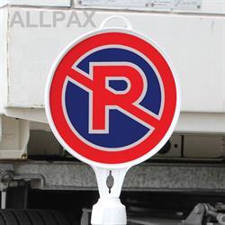 Schild rund Parkverbot