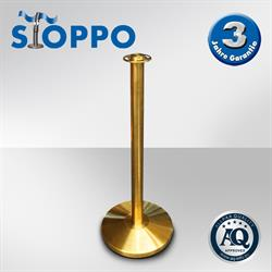 STOPPO Absperrständer flacher Kopf goldenes Design
