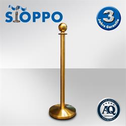 STOPPO Afzetpaal ronde bol, goud